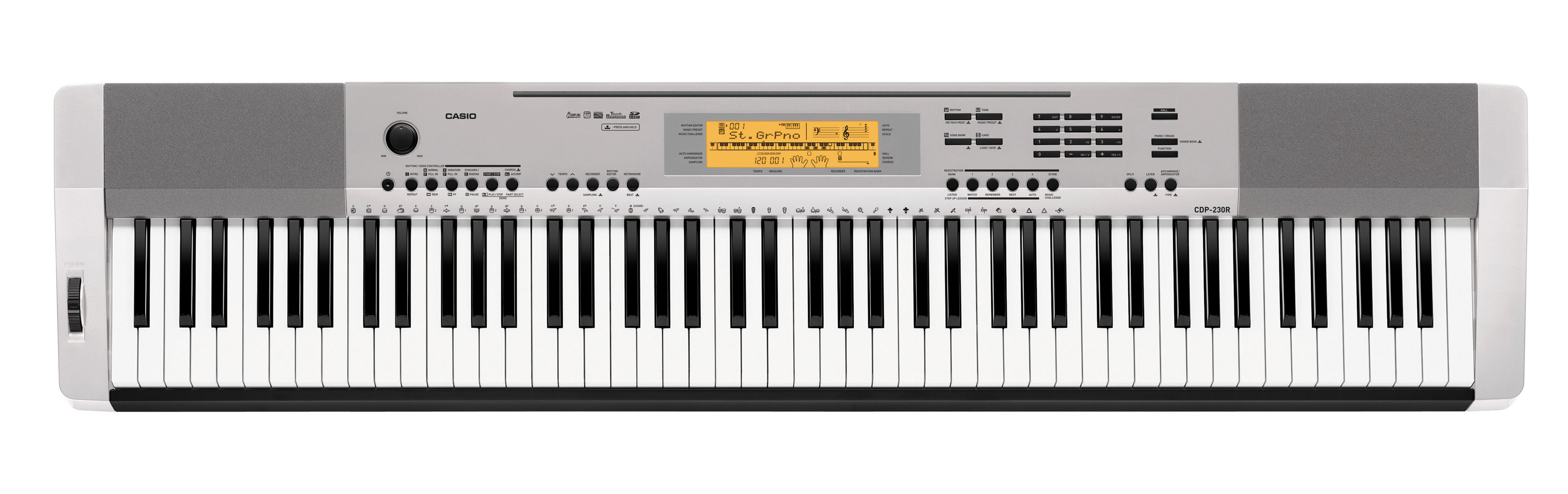 Цифровое пианино CASIO CDP-230R SR